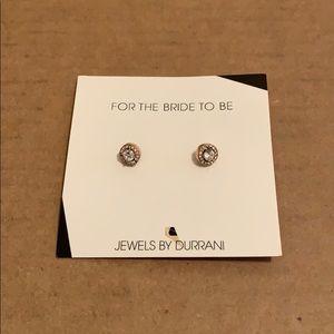 Jewels by Durrani Classic Halo Stud Earrings